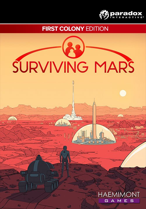 Cover Surviving Mars: Digital Deluxe Edition [Update 4 + 1 DLC] (2018) PC | RePack от R.G. Механики