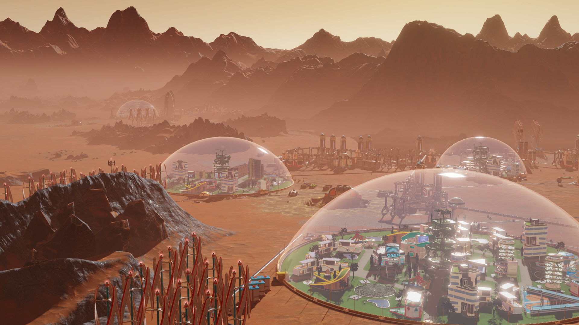 Screenshot for the game Surviving Mars: Digital Deluxe Edition [Update 4 + 1 DLC] (2018) PC | RePack от R.G. Механики
