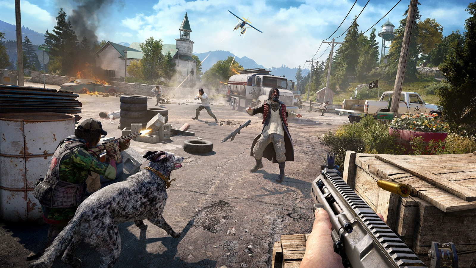 Screenshot for the game Far Cry 5: Gold Edition [v 1.4.0.0 + DLCs] (2018) PC | Repack от R.G. Механики