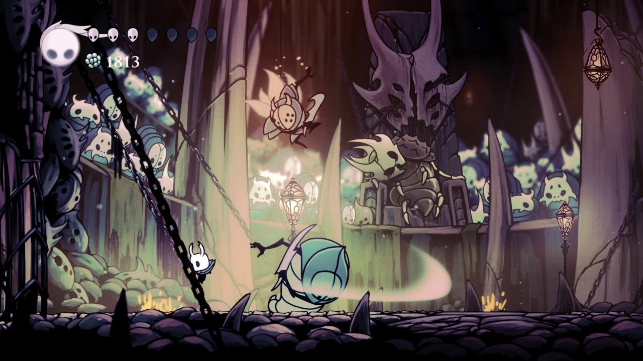 Screenshot for the game Hollow Knight [v 1.4.3.2 + DLCs] (2017) PC | RePack от R.G. Механики