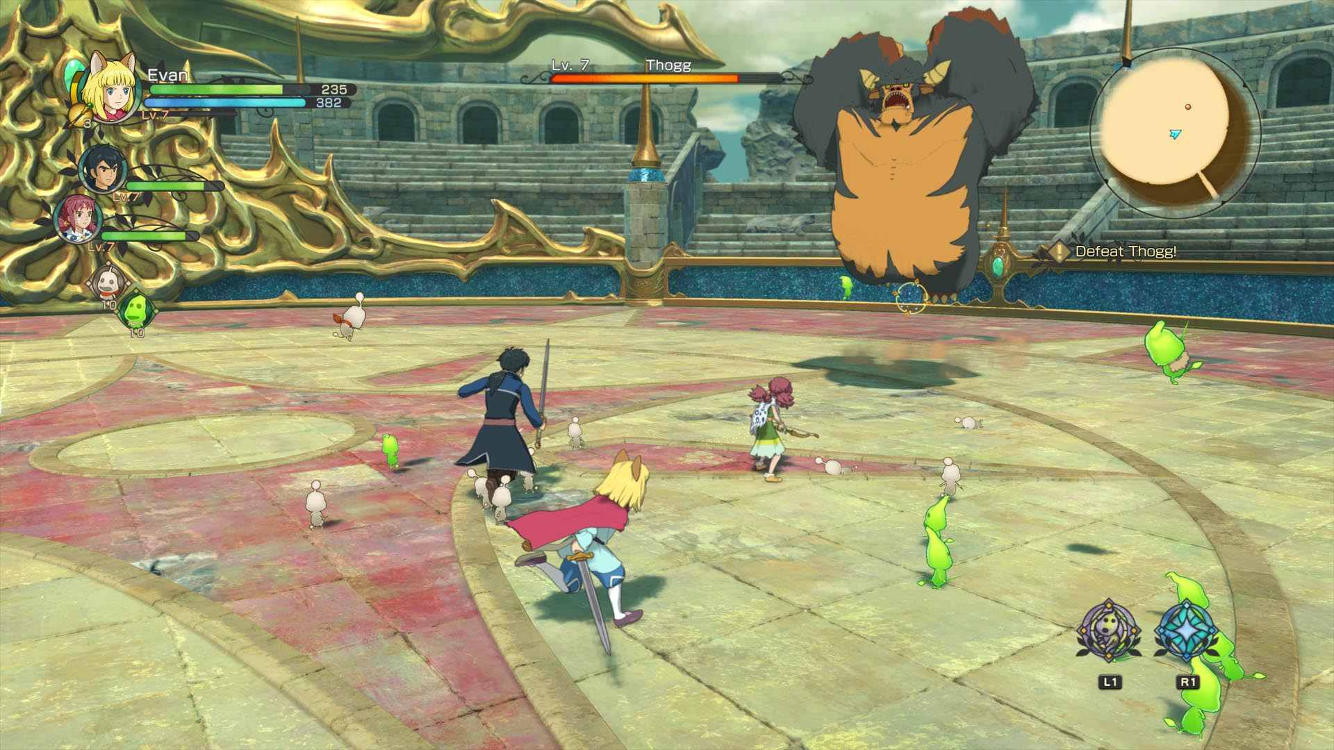 Screenshot for the game Ni no Kuni II: Revenant Kingdom - The Prince's Edition [v 1.02 + 4 DLC] (2018) PC | RePack от R.G. Механики