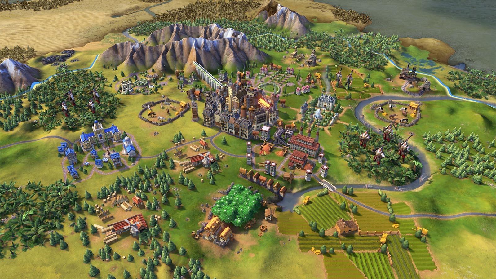 Screenshot for the game Sid Meier's Civilization VI: Digital Deluxe [v 1.0.0.257 + DLC's] (2016) PC | RePack от R.G. Механики