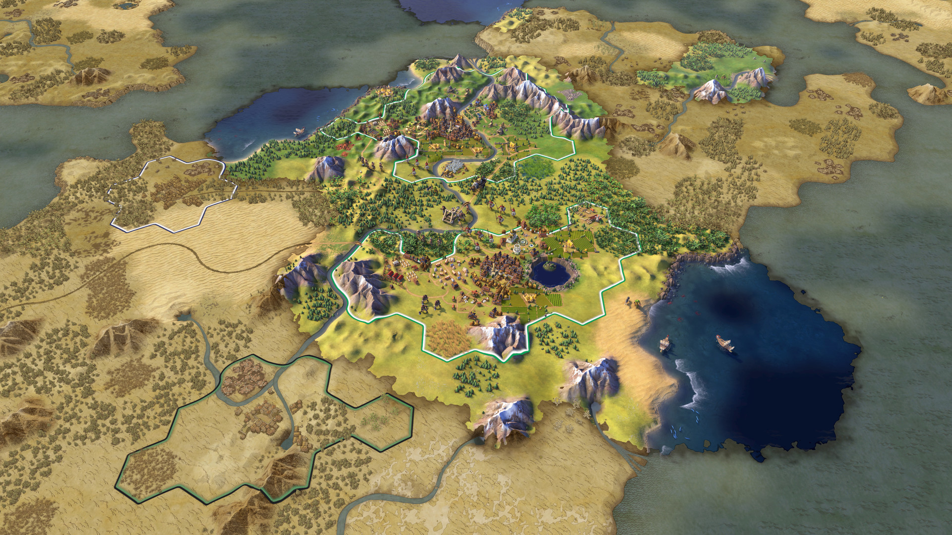 Screenshot for the game Sid Meier's Civilization VI: Digital Deluxe [v 1.0.0.257 + DLC's] (2016) PC | RePack от R.G. Механики