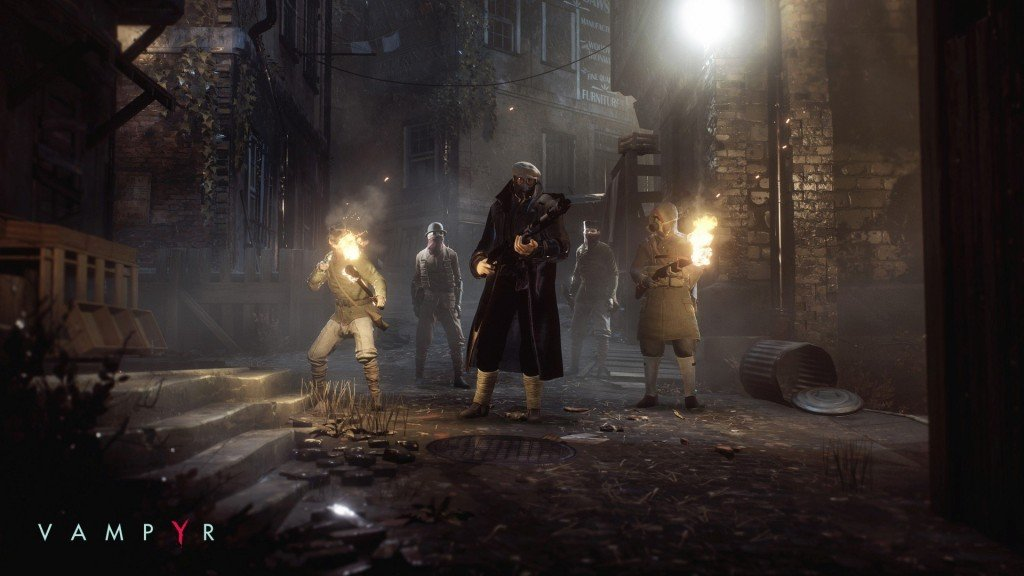 Screenshot for the game Vampyr [Update 3 + DLC] (2018) PC | RePack by R.G. Mechanics