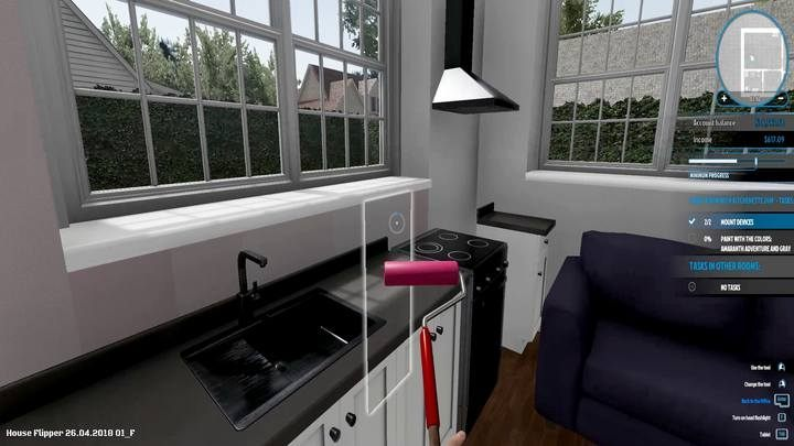 Screenshot for the game House Flipper [v .1.20254 + DLC] (2018) PC | RePack by R.G. Mechanics