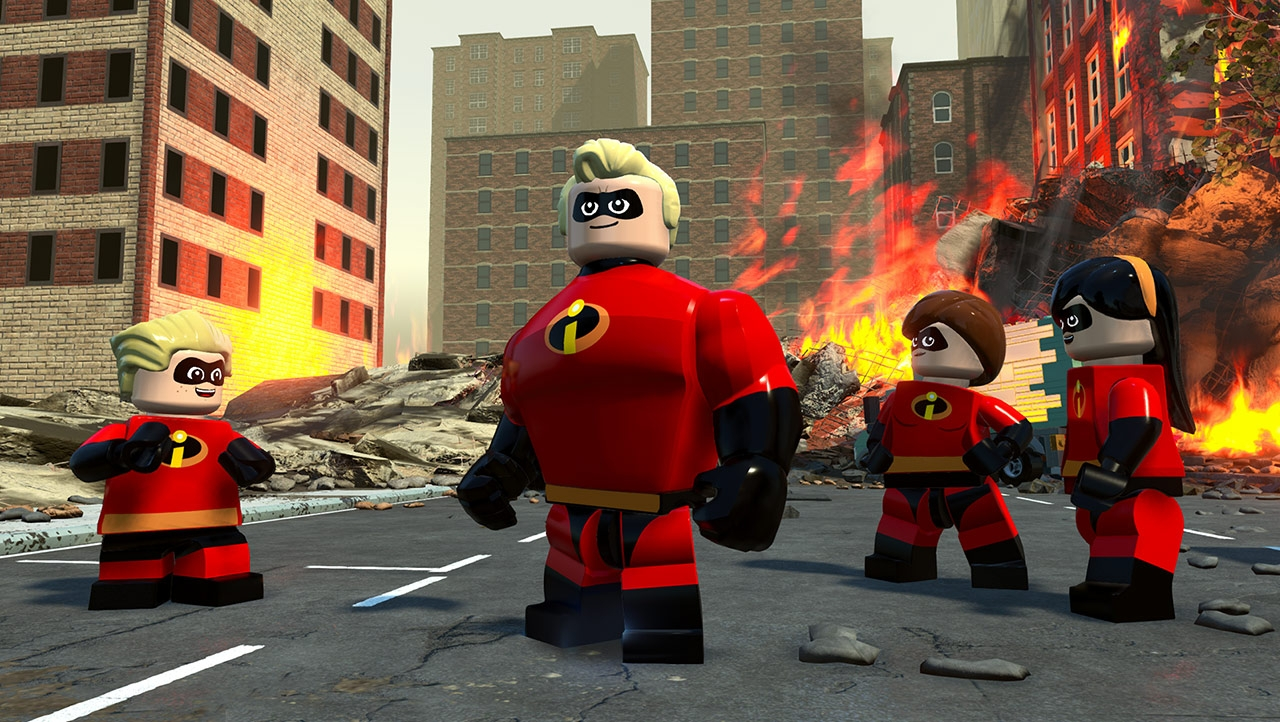 Screenshot for the game LEGO The Incredibles [v 1.0.0.62857 + 1 DLC] (2018) PC | Repack from R.G. Mechanics