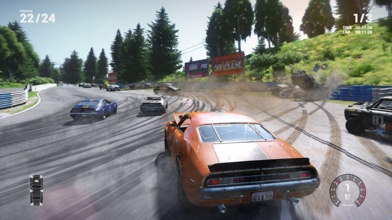 Screenshot for the game Wreckfest [v 1.268578 + DLCs] (2018) download torrent RePack by R.G. Mechanics