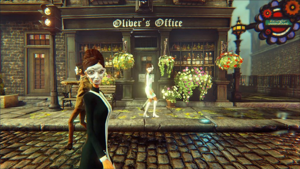 Screenshot for the game We Happy Few [v 1.7.79954 + DLC] (2018) PC | RePack by R.G. The mechanics