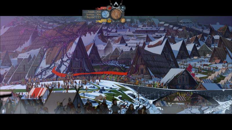 Screenshot for the game The Banner Saga 3 (2018) PC | RePack by R.G. Mechanics
