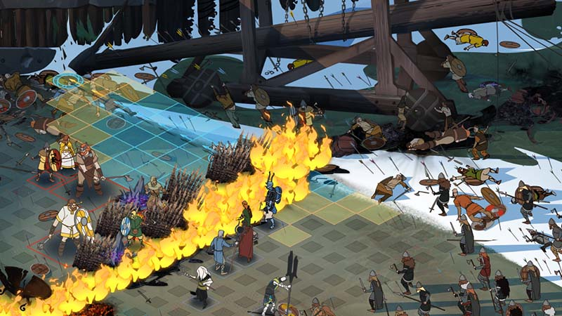 Screenshot for the game The Banner Saga 3: Legendary Edition [v 2.61.03 + DLCs] (2018) PC | RePack by R.G. The mechanics
