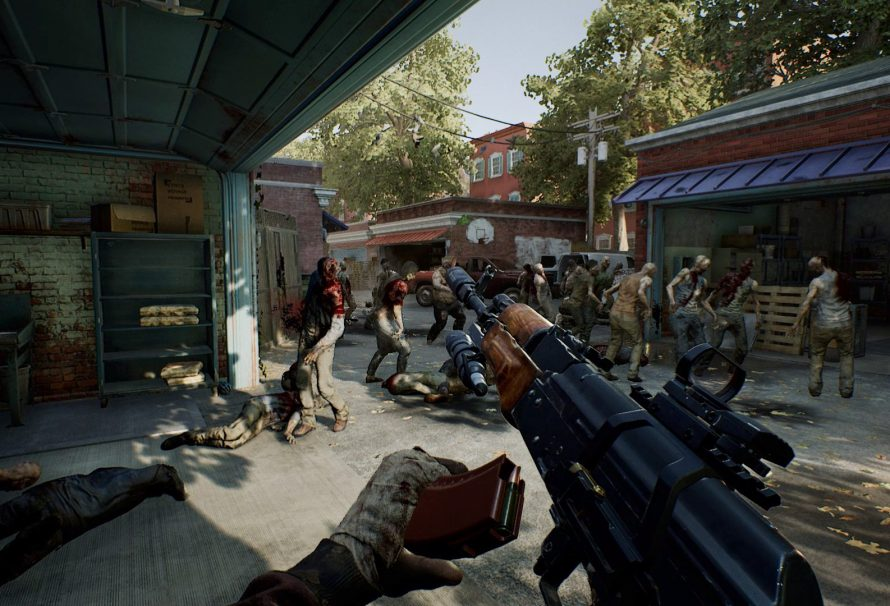 Screenshot for the game Overkill's The Walking Dead [v 2.0.1 + DLCs] (2018) PC | RePack by R.G. The mechanics