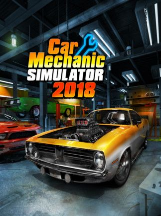 Cover Car Mechanic Simulator 2018