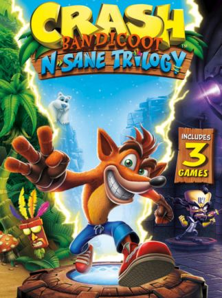 Cover Crash Bandicoot N. Sane Trilogy