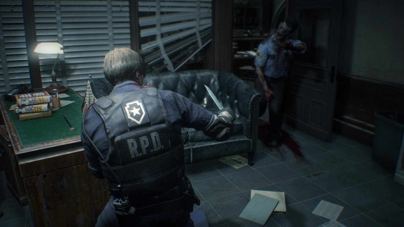 Screenshot for the game Resident Evil 2 / Biohazard RE: 2 - Deluxe Edition (2019) PC | Repack by R.G. The mechanics