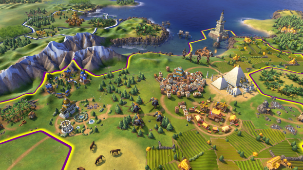 Screenshot for the game Sid Meier's Civilization VI: Digital Deluxe [v 1.0.0.290 + DLCs] (2016) PC | Repack by R.G. The mechanics