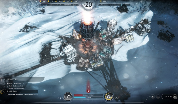 Screenshot for the game Frostpunk [v 1.3.3 + DLC] (2018) PC | RePack от R.G. Механики
