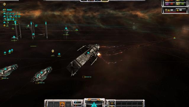 Screenshot for the game Sins of a Solar Empire - Rebellion [v 1.97 + 4 DLC] (2012) PC | RePack by R.G. The mechanics