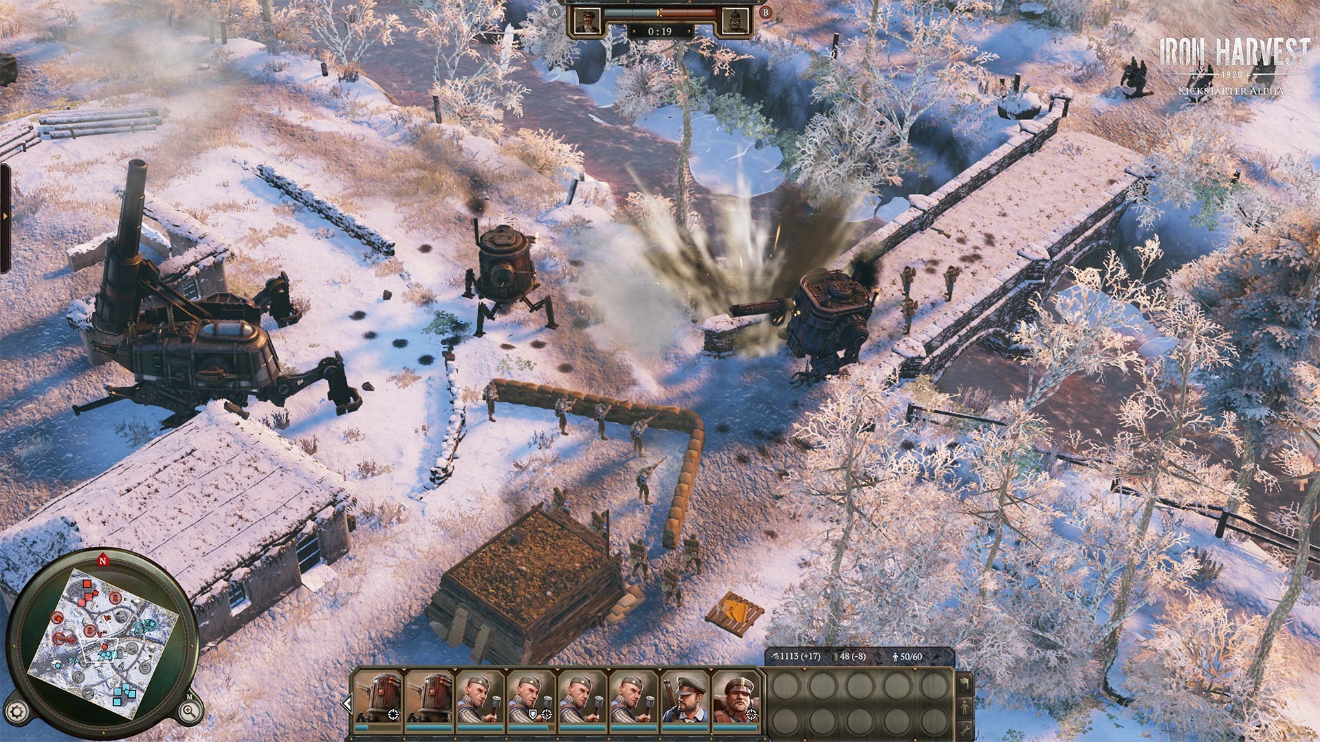 Screenshot for the game Iron Harvest - Deluxe Edition v.1.1.5.2145 [GOG]