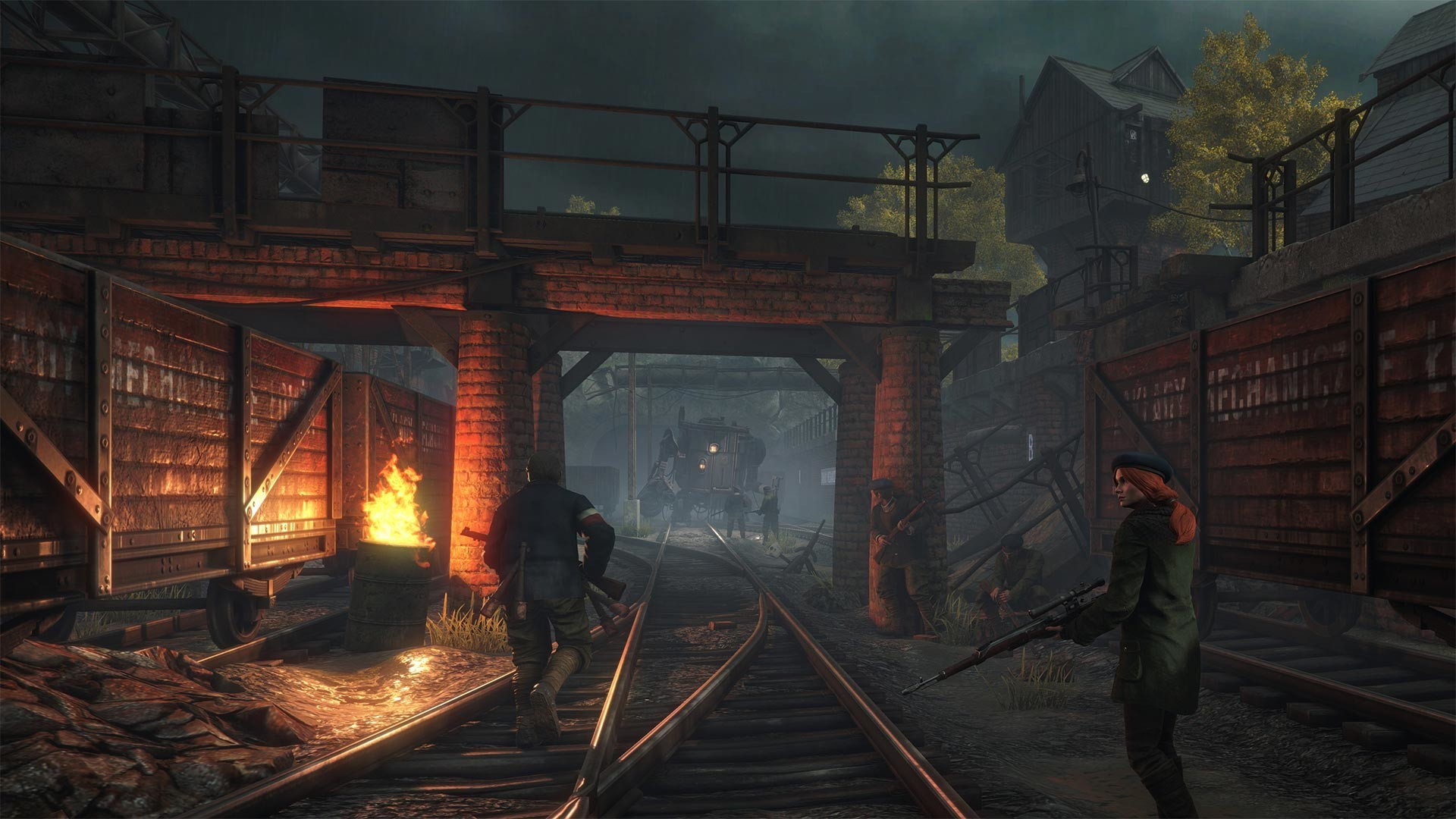 Screenshot for the game Iron Harvest - Deluxe Edition v.1.0.8.1796 [GOG] (2020) download torrent License