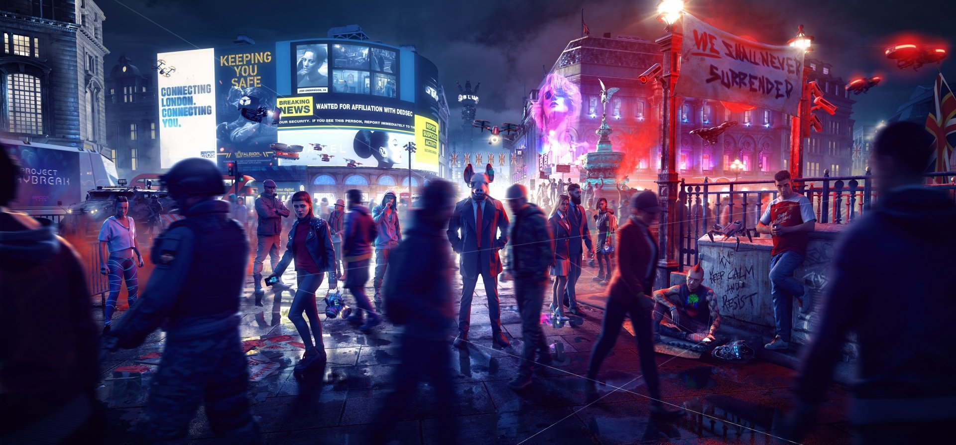 Screenshot for the game Watch Dogs Legion