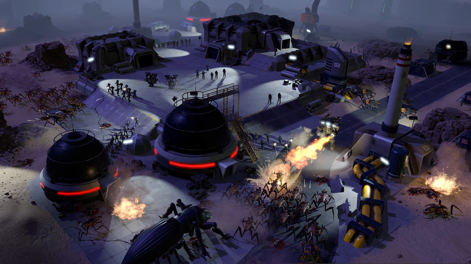Screenshot for the game Starship Troopers - Terran Command