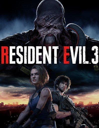 Poster Resident Evil 3 [Build 5269288 Update 3+DLC] (2020)