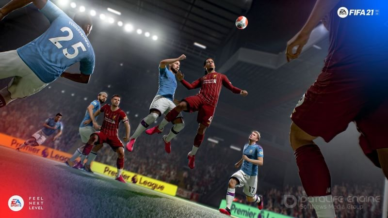 Screenshot for the game FIFA 21 (2020)