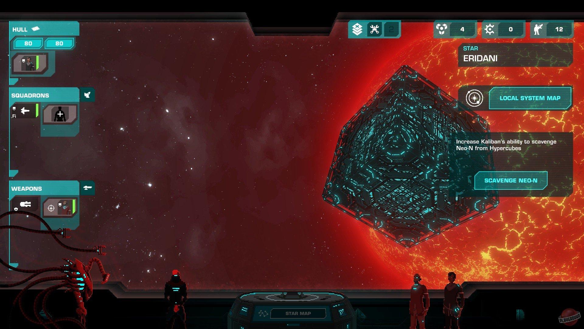 Screenshot for the game Crying Suns v.2.1.1 [GOG] (2019) download torrent License