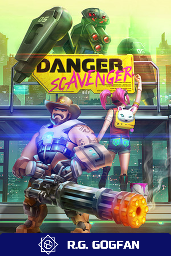 Poster Danger Scavenger (2020)