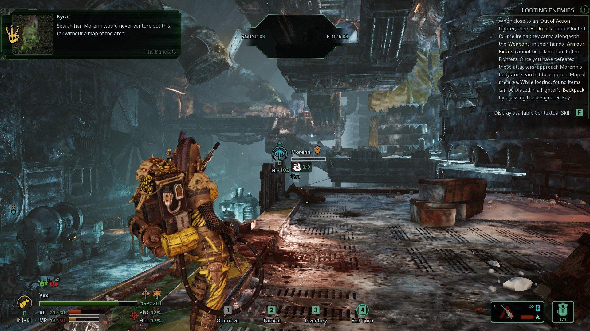 Screenshot for the game Necromunda: Underhive Wars (2020) скачать торрент RePack