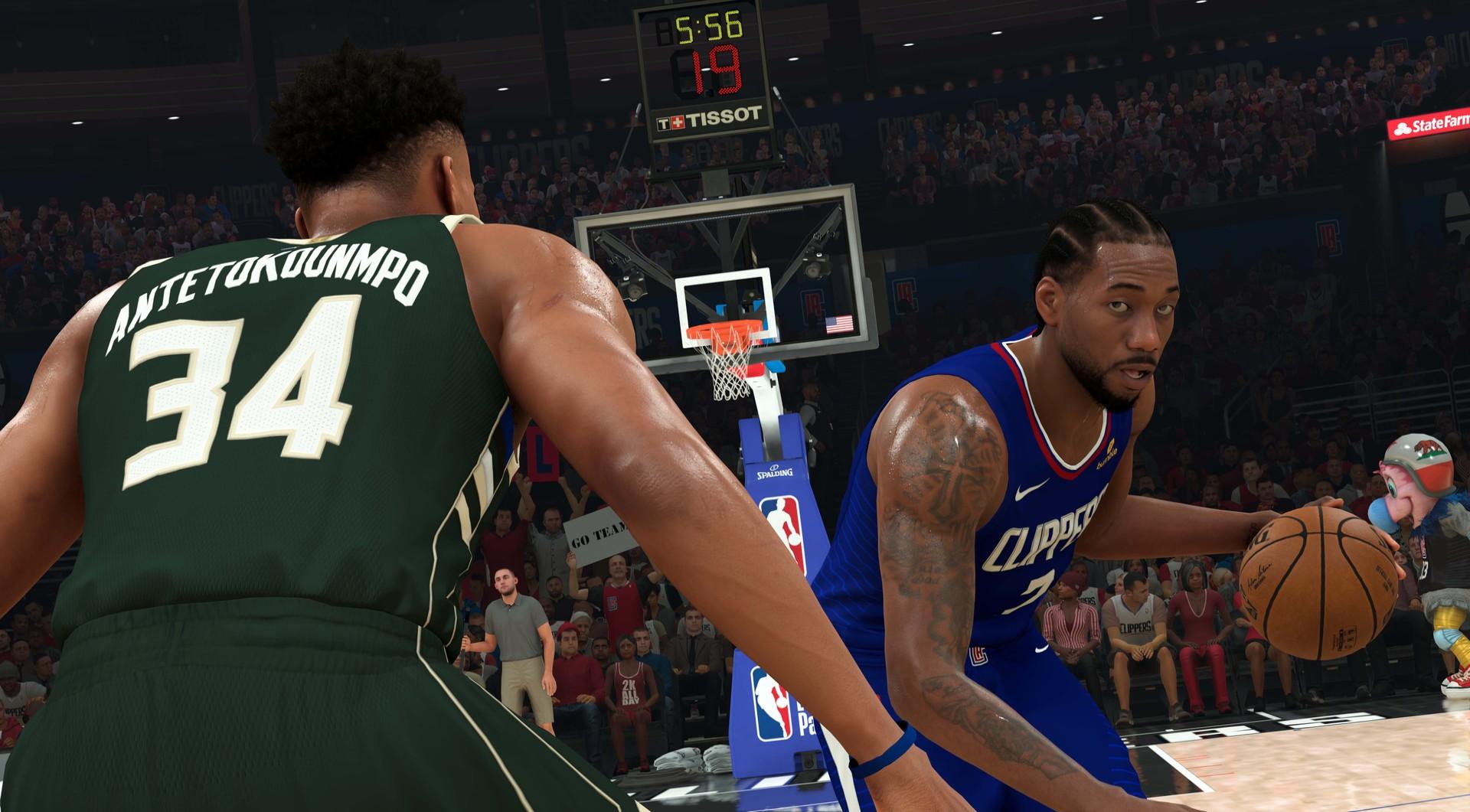 Screenshot for the game NBA 2K21 (2020) скачать торрент RePack