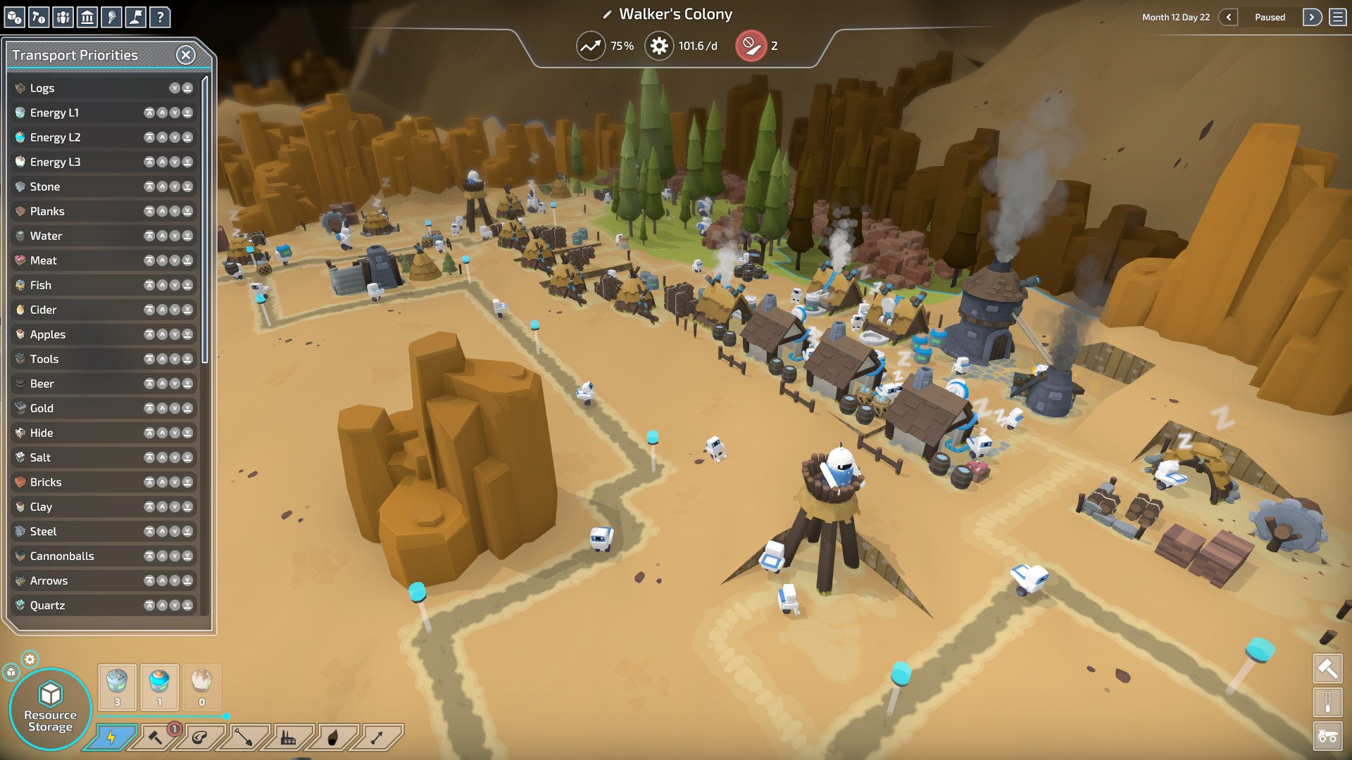 Screenshot for the game The Colonists v.1.5.10.1  [GOG]