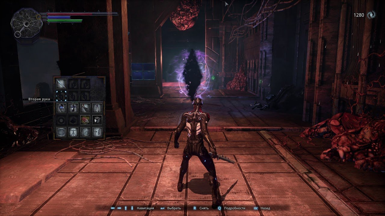 Screenshot for the game Hellpoint [1.03 (358 gog) ] (2020) download torrent RePack
