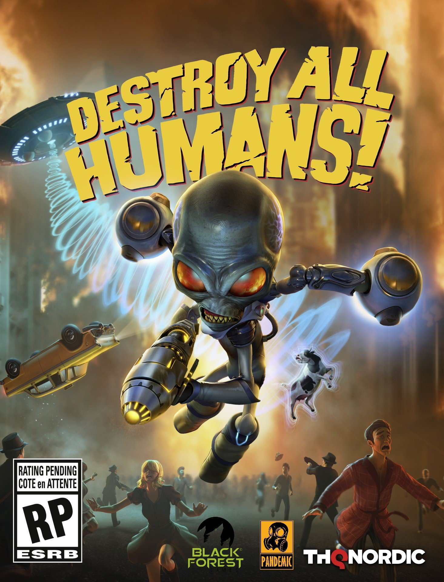 Poster Destroy All Humans! (2020)