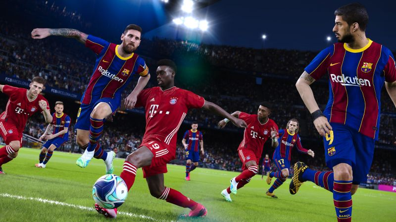 Screenshot for the game eFootball PES 2021 (2020) download torrent License