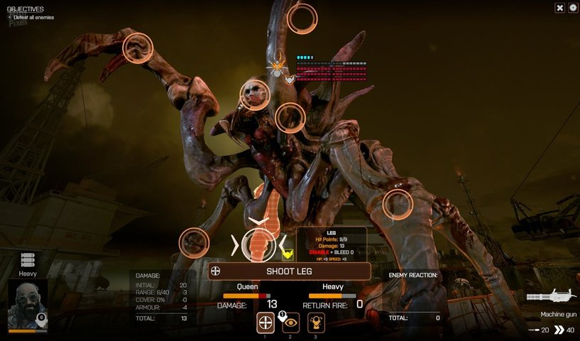 Screenshot for the game Phoenix Point - Ultra Edition [1.7.62001 +DLC] (2019) download torrent RePack