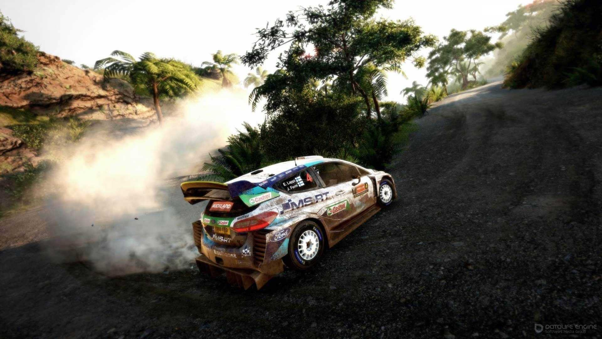 Screenshot for the game 9 WRC FIA World Rally Championship : Deluxe Edition [v 1.0 Update 2 + DLCs] (2020) torrent download RePack