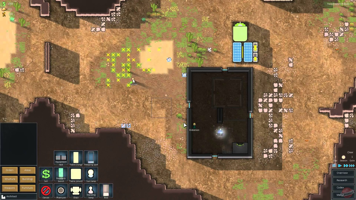 Screenshot for the game RimWorld V. 1. 2. 2900