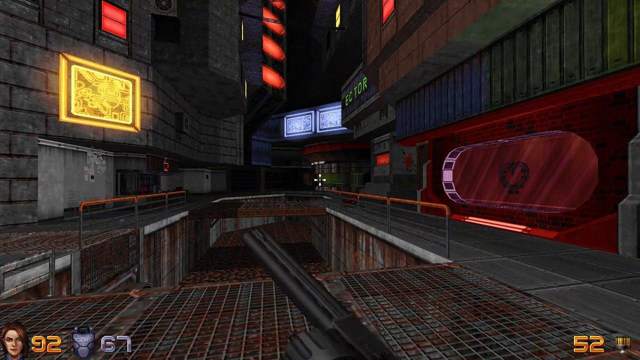 Screenshot for the game Ion Fury v.1.1 [GOG] (2019) download torrent License
