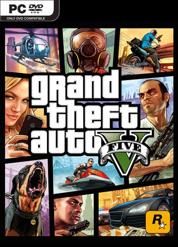 Cover GTA 5 / Grand Theft Auto V