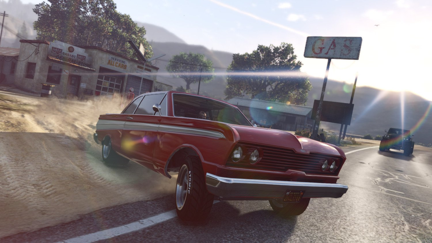 Screenshot for the game Grand Theft Auto V-Redux [v 1.0.1868/1.50] (2015) download torrent RePack