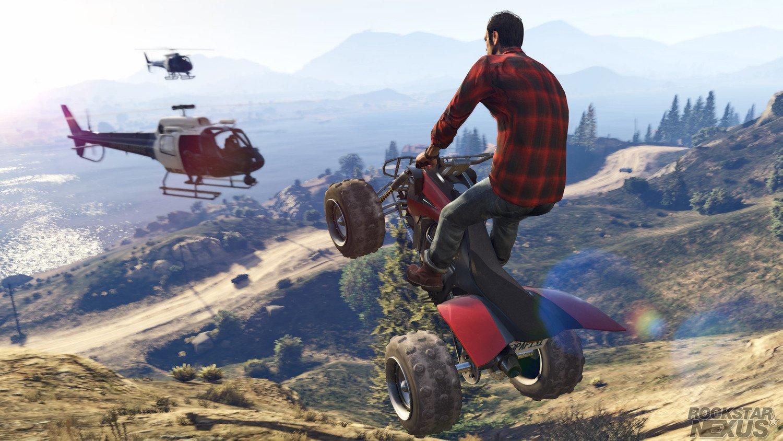 Screenshot for the game Grand Theft Auto V (GTA 5) [v1.0.1180.1 (SP)/1.41]  (2015)