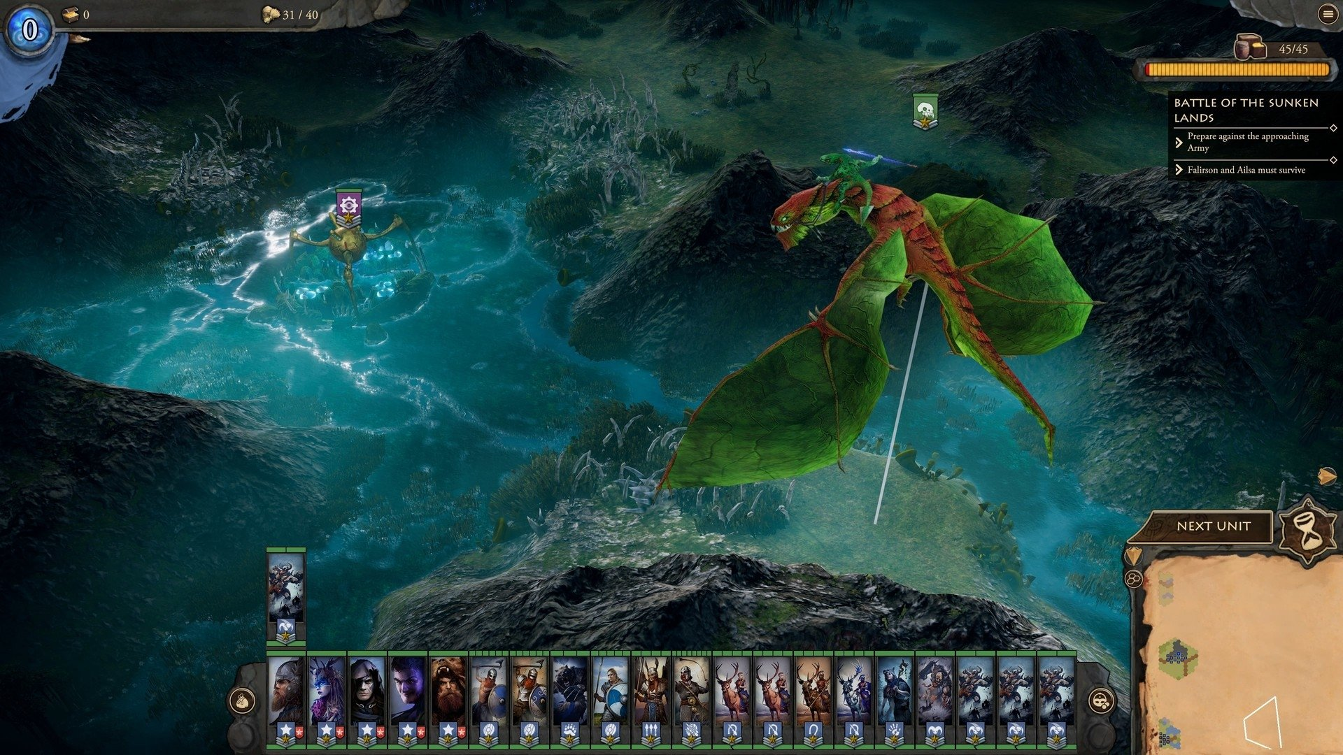 Screenshot for the game Fantasy General II Invasion General Edition v.01.02.12491 [GOG]  (2019) download torrent License