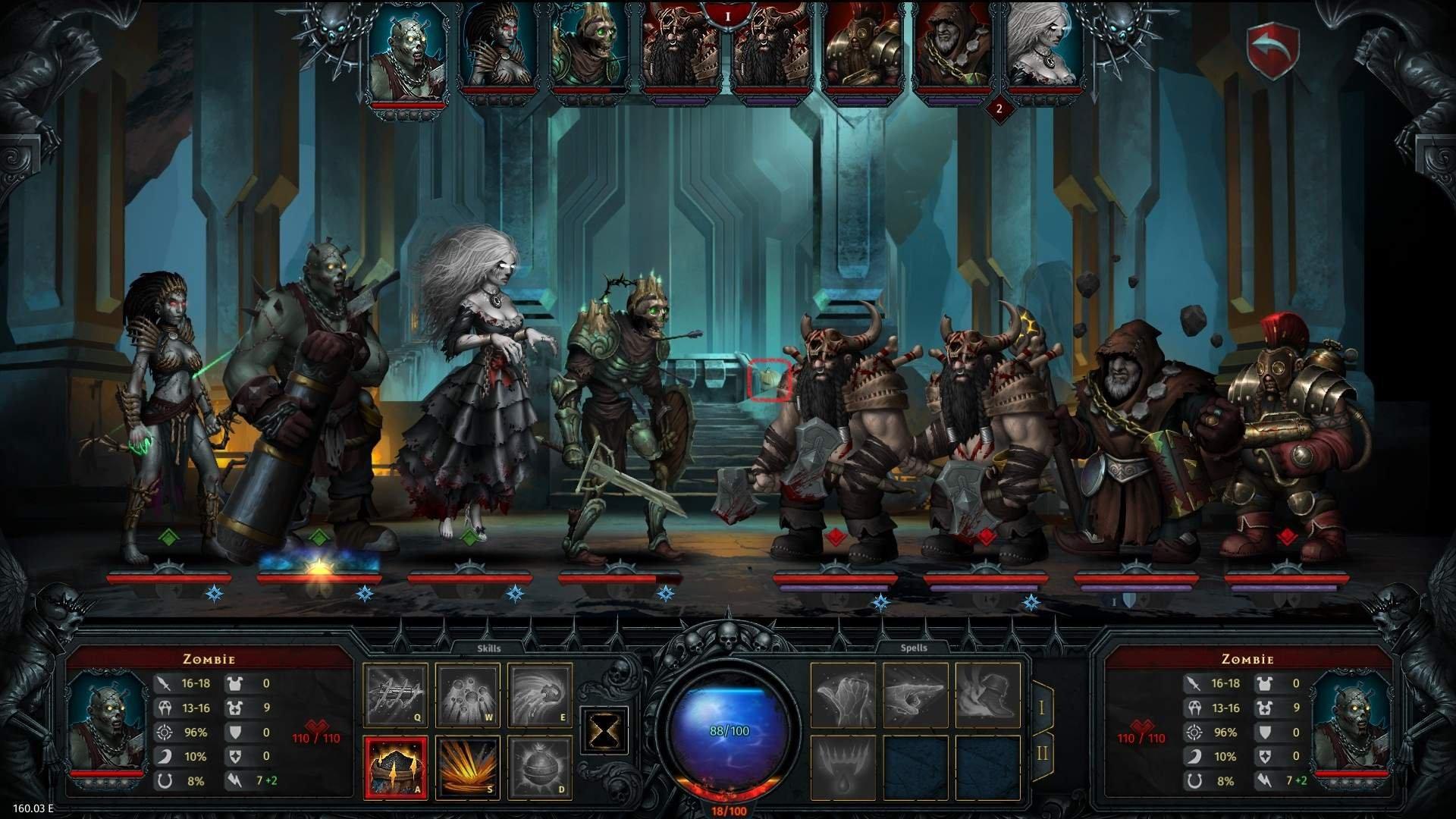 Screenshot for the game Iratus: Lord of the Dead v.176.16.01 [GOG] (2020) скачать торрент Лицензия