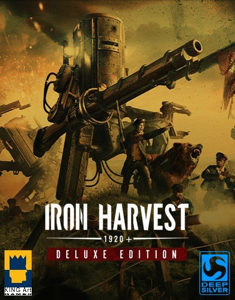 Cover Iron Harvest - Deluxe Edition v.1.0.0.1632 [GOG] (2020) download torrent License