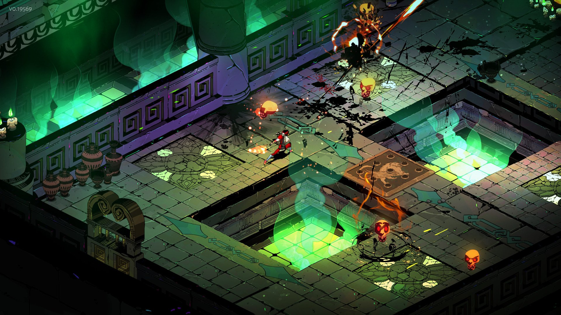 Screenshot for the game Hades V. 1. 36645 [EGS-Rip] (2020) download torrent License