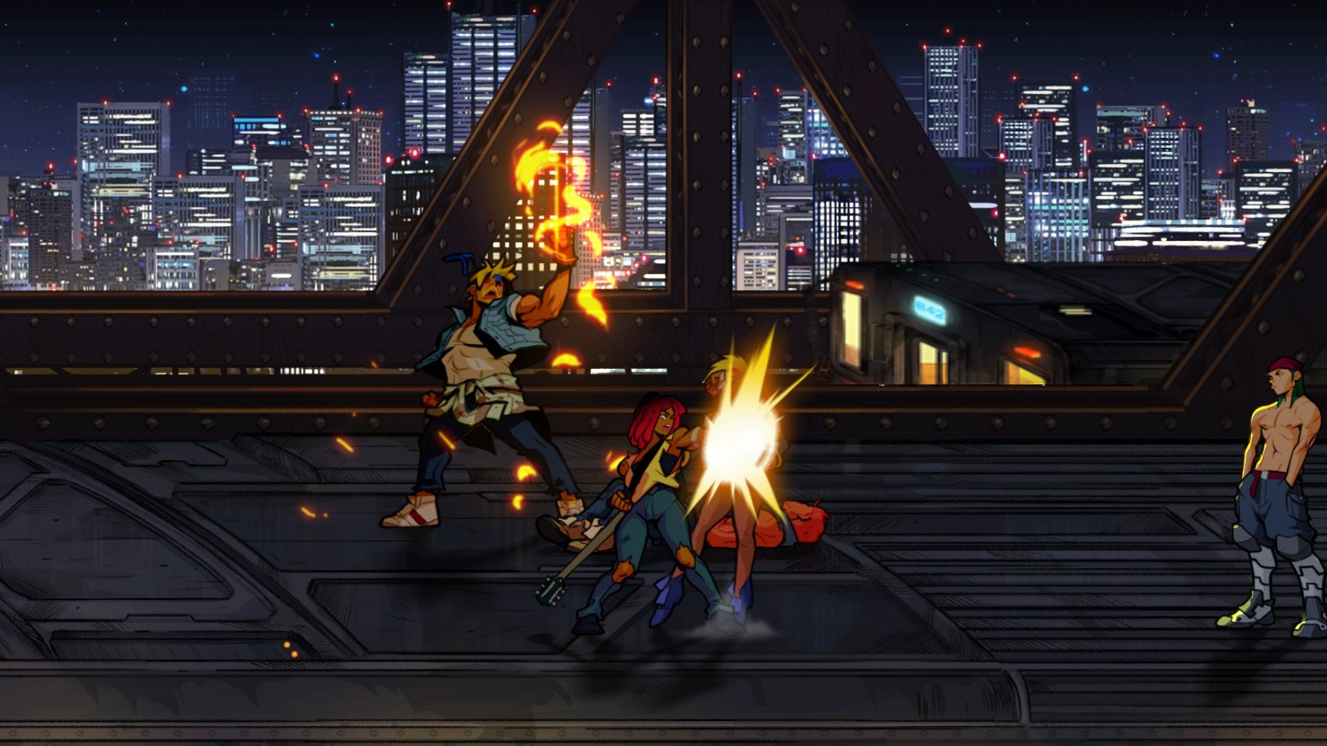 Screenshot for the game Streets of Rage 4 (05g-r11096) [GOG] (2020) download torrent License
