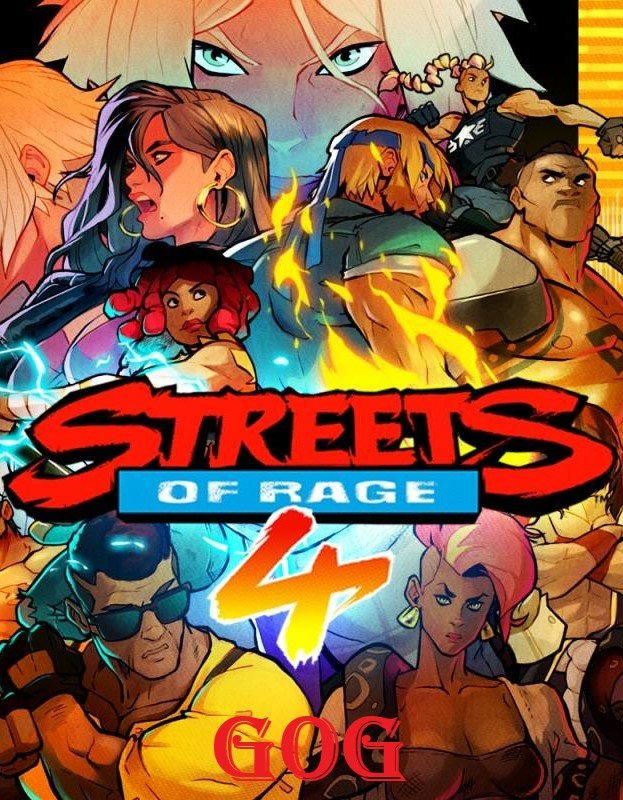 Cover Streets of Rage 4 (05g-r11096) [GOG] (2020) download torrent License