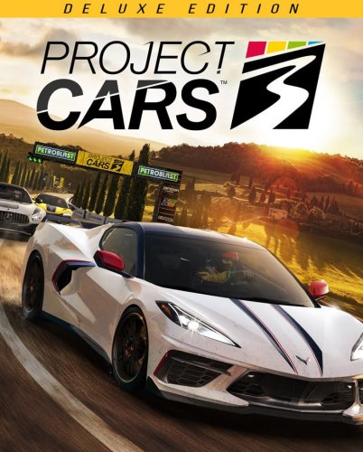 Cover Project CARS 3 - Deluxe Edition [1.0.0.0.0643+DLC]