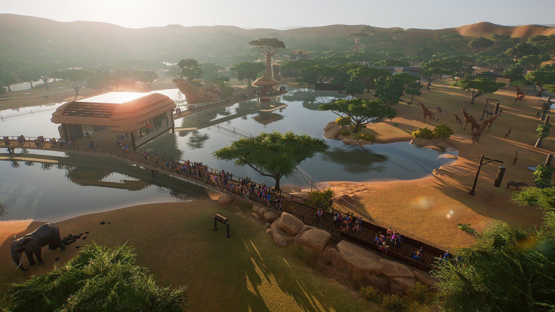 Screenshot for the game Planet Zoo [1.2.5.63260 + 4 DLC] (2019) скачать торрент RePack